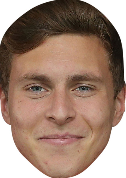 Victor Lindelof Celebrity Party Face Mask