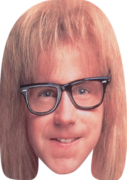 Wayne And Garth (2) Celebrity Party Face Mask