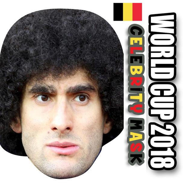 Marouanne Fellani Belgium Football World Cup 2018 Face Mask