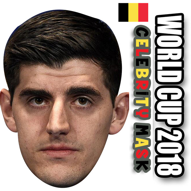 THIBAUT COURTOIS  Belgium Football World Cup 2018 Face Mask