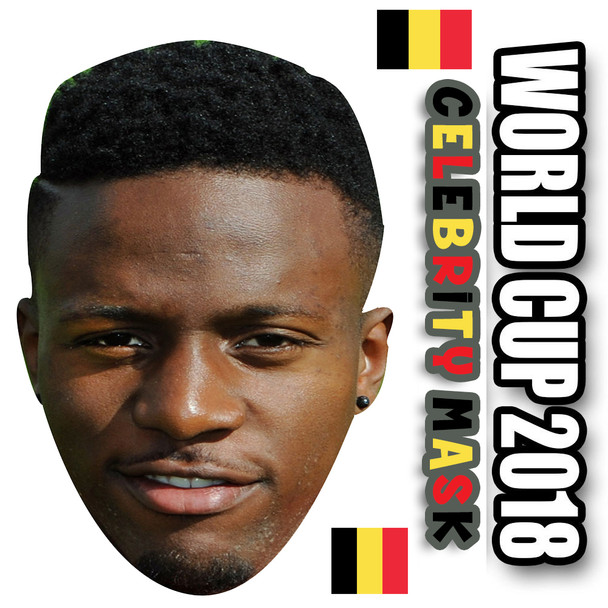 Divok Origi  Belgium Football World Cup 2018 Face Mask