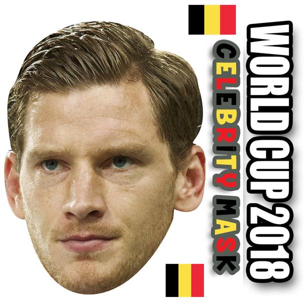 Jan Veronghen Belgium Football World Cup 2018 Face Mask