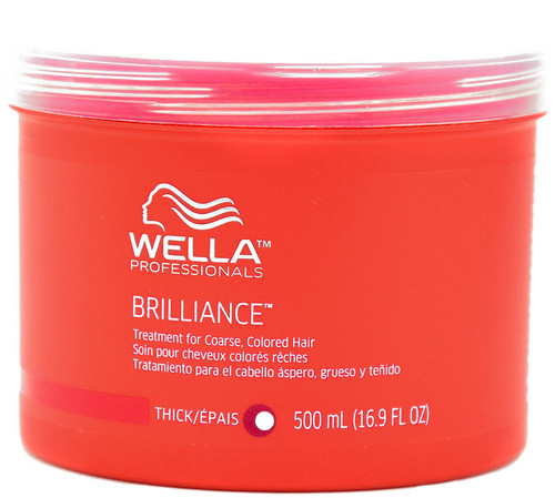 Wella Brilliance Treatment Fine/Coloured Hair 500ml