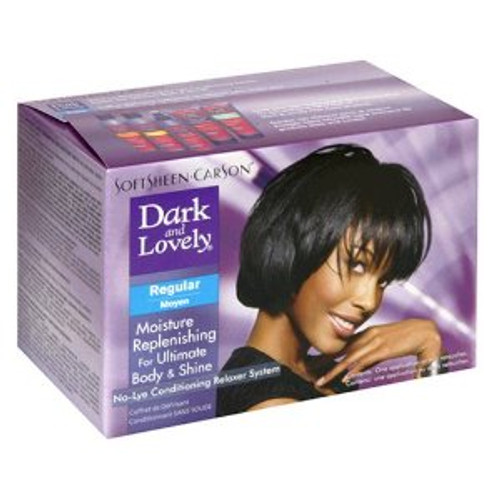 Dark & Lovely No-Lye Conditioning Relaxer Regular Kit