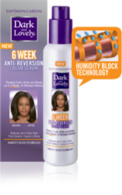 Dark & Lovely 6 Week Anti-Reversion Cream Hair Serum 5.1oz