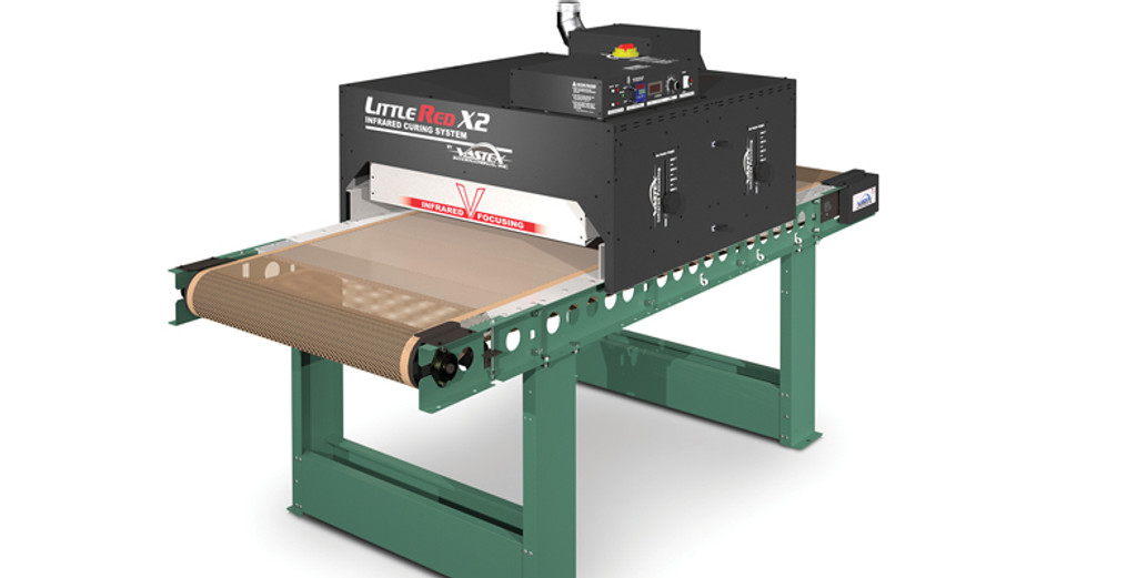 Little Red X2 Vastex Conveyor Dryer
