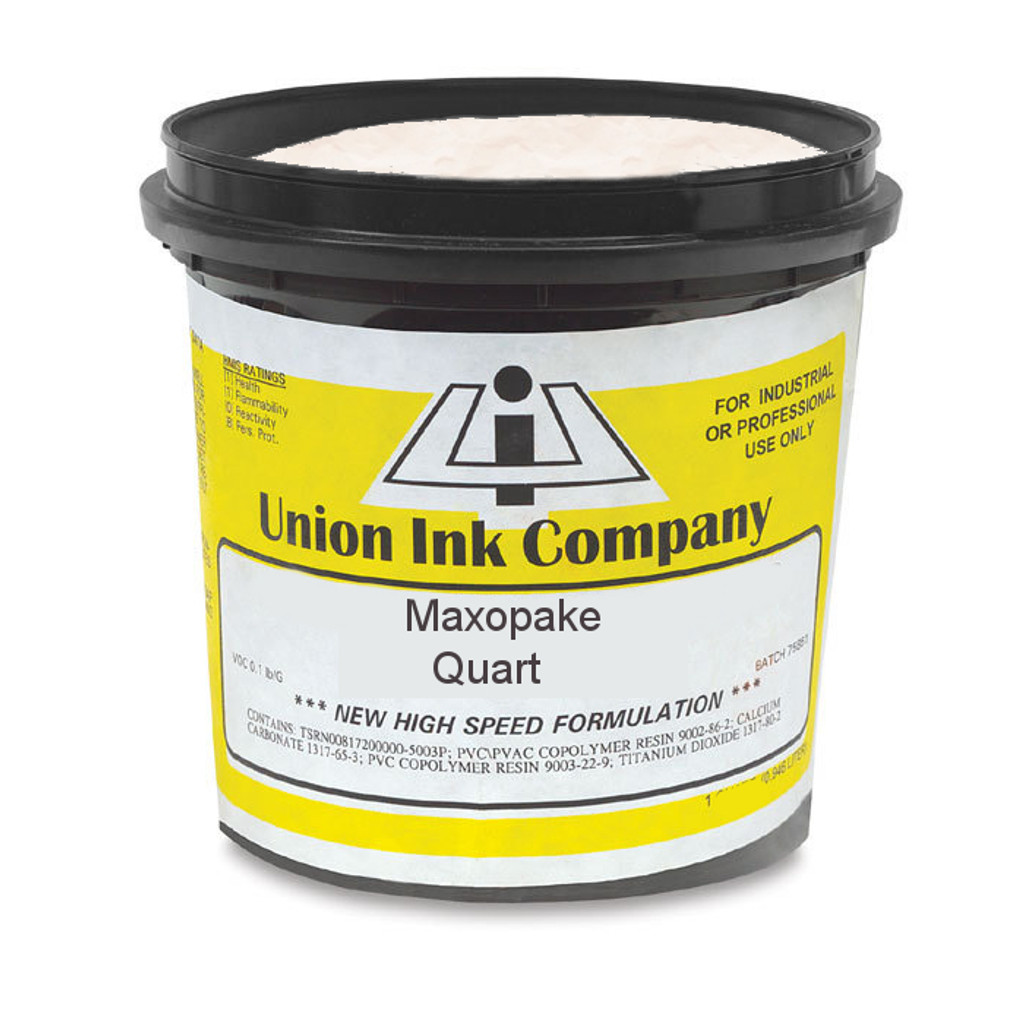 Union Maxopake Bright Cotton White - Quart