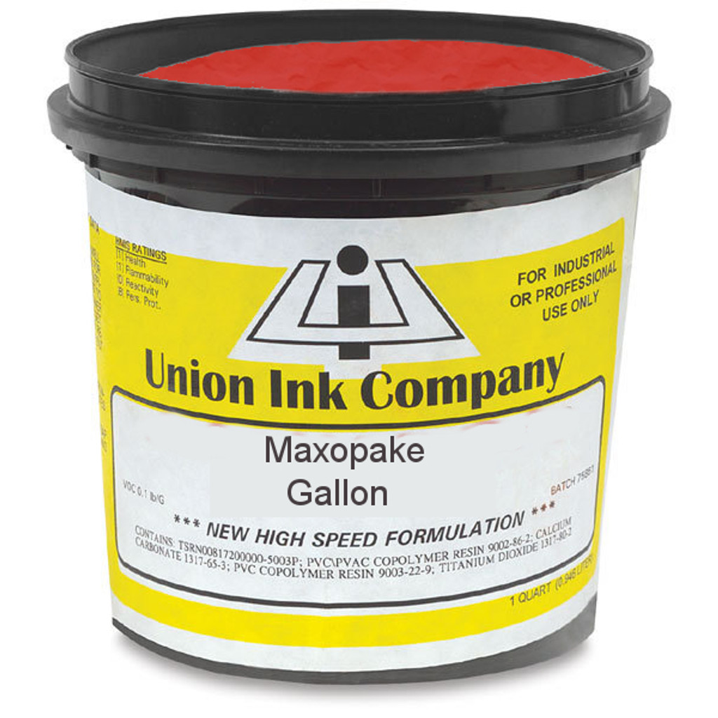 Union Maxopake Bright Red - Gallon