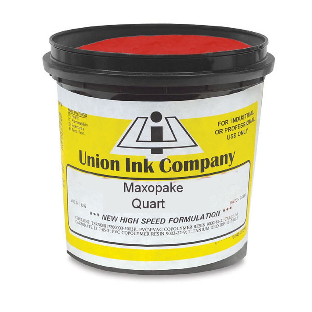 Union Maxopake Bright Red - Quart