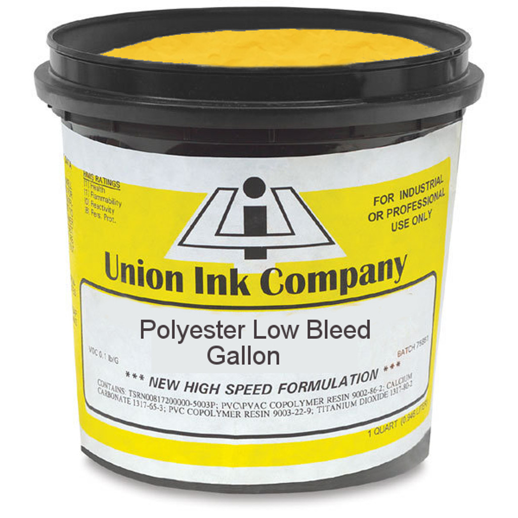 Polyester Low Bleed Golden Yellow - Gallon
