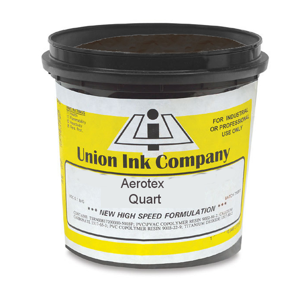 Aerotex Waterbased Black - Quart