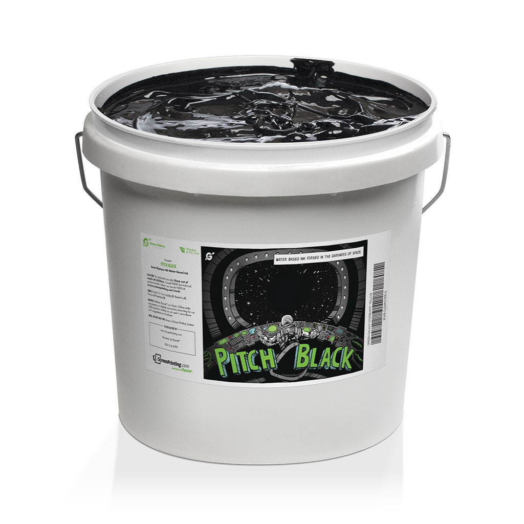 Green Galaxy Waterbased Pitch Black Gallon