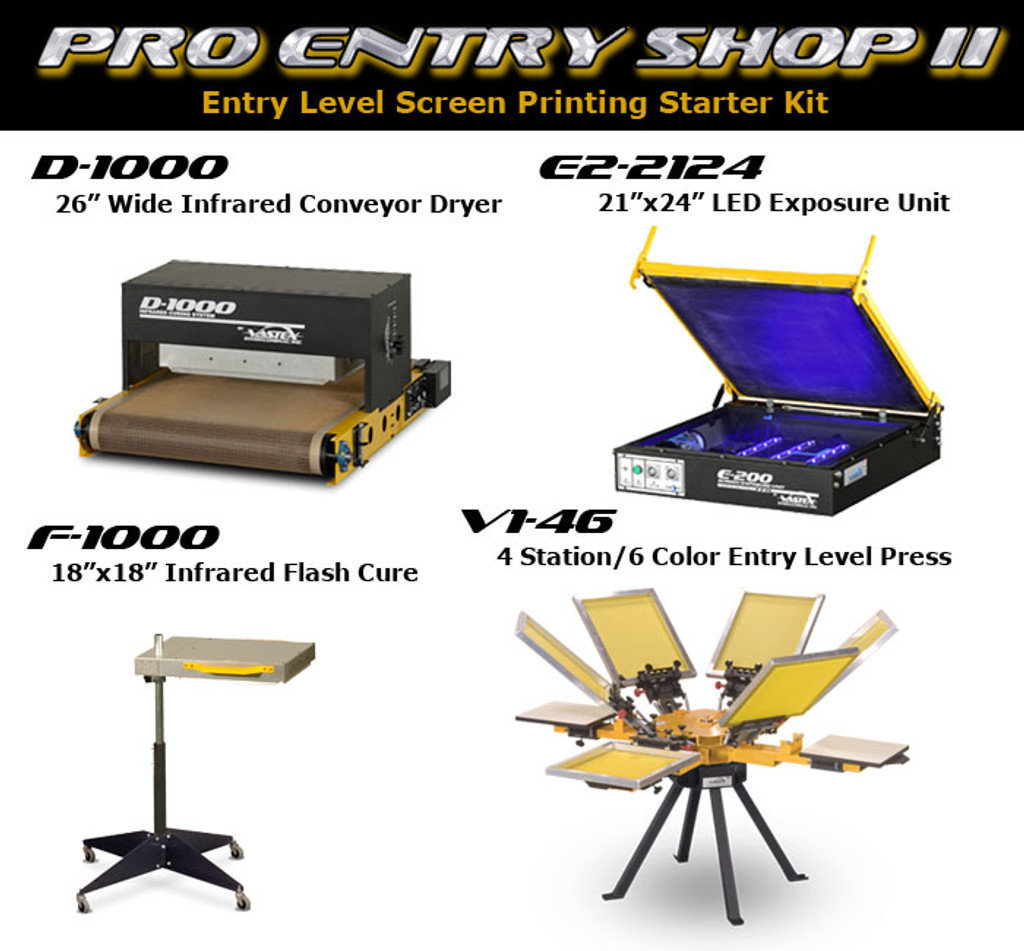 Vastex Pro Entry Shop II Package