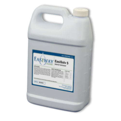 EasiSolv 5 Stencil Remover Concentrate - 1 Gallon