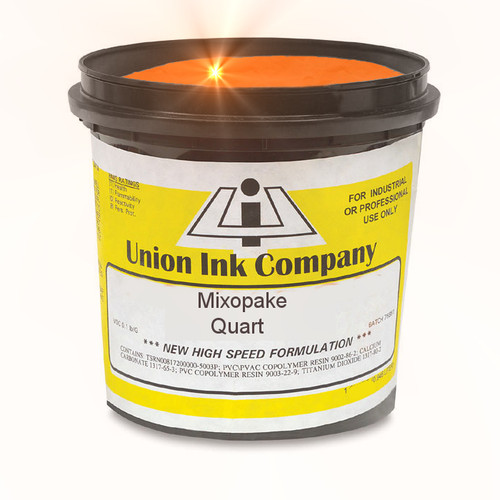 Mixopake Fluorescent Flame Orange - Quart