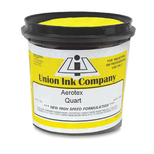 Aerotex Waterbased Lemon Yellow - Quart