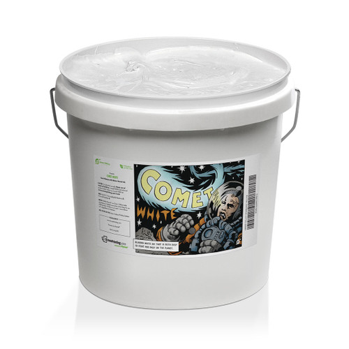 Green Galaxy Waterbased Comet White Gallon