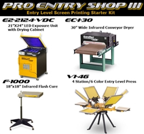 Vastex Pro Entry Shop III Package