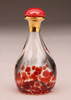 Red Contemporary Tear Bottle