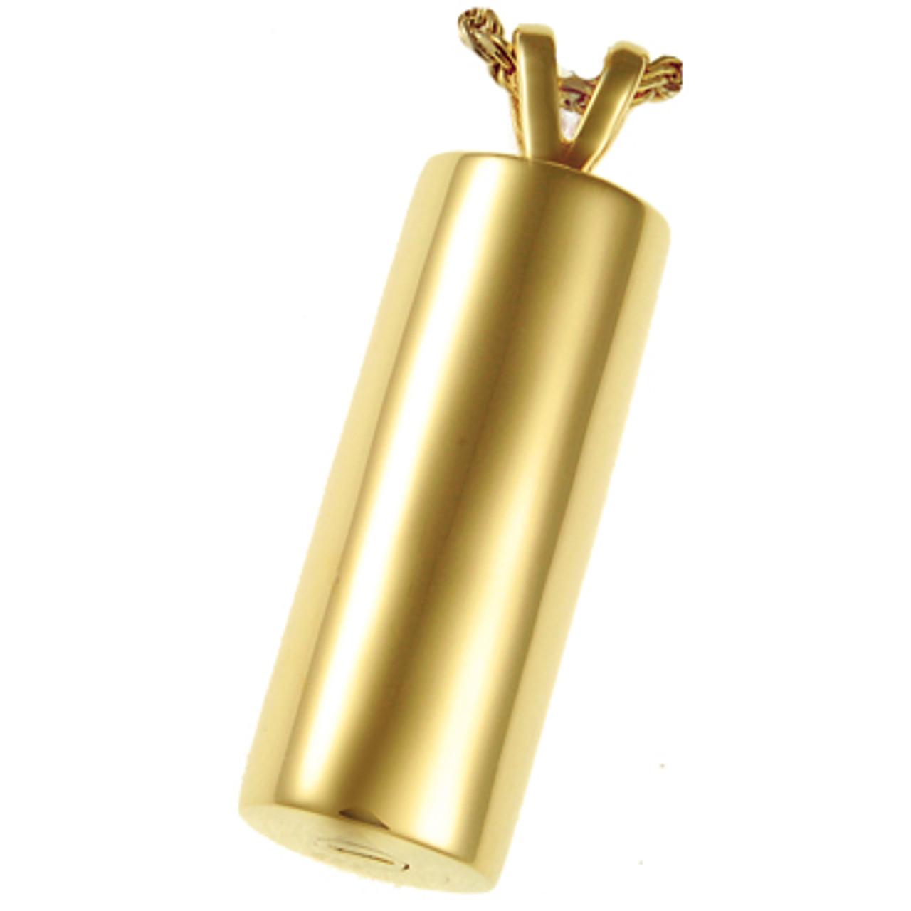 "Elegant Cylinder Dimensions are 3/4""W x 1 1/4""H."