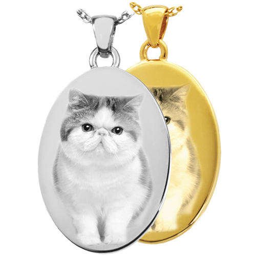 Oval Pet Pendant