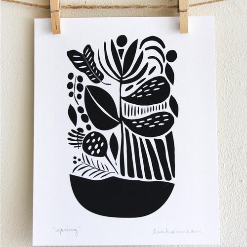 Spring Print