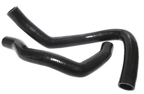 ISR Performance Silicone Radiator Hose - Nissan 240sx KA24 - Black