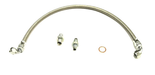 ISR Performance High Pressure Power Steering Line - Nissan 240sx 89-98