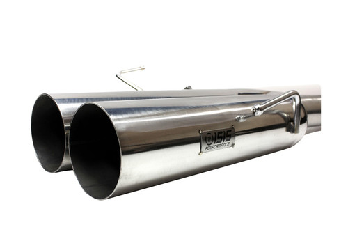 """ISR Performance EP (Straight Pipes) Dual Tip Exhaust - Nissan 240sx 95-98 (S14) - 4"""""""