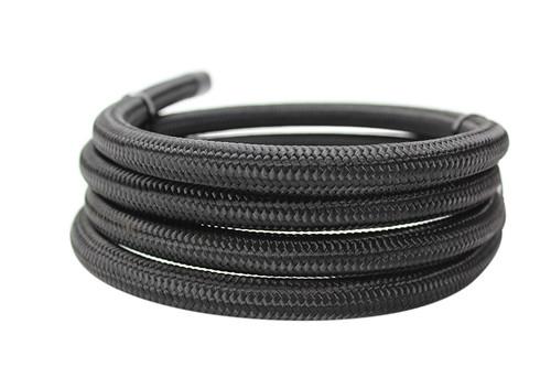 ISR Performance -8AN Braided Black Nylon Hose - (Per Foot)