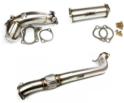 ISR Performance Turbo Extension 3pc Combo for Genesis Coupe 2.0t - o2 housing + Down Pipe + Test Pipe