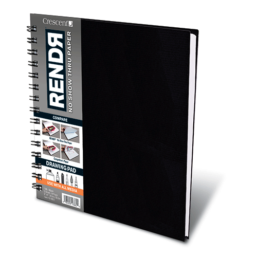 RENDЯ® Wirebound  Drawing Pad