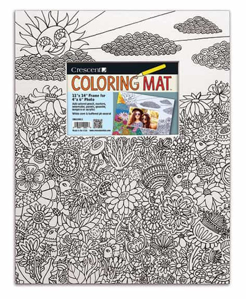 Critters Coloring Mat
