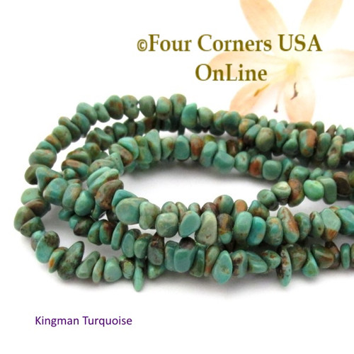 supplies corners tq jewelry turquoise four beads inch american online rondelle kingman blue usa strands