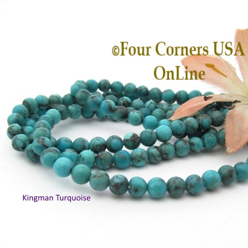 inch tq making corners beads jewelry rounded beading heishi blue four usa supplies kingman strand beaded online pinterest pin turquoise
