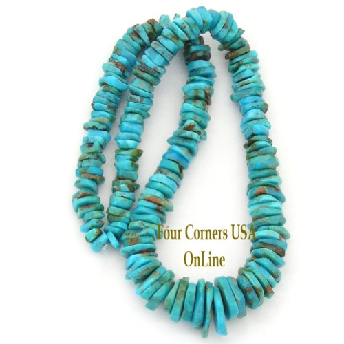 blue corners inch kingman online pin strand tq beads heishi usa four turquoise