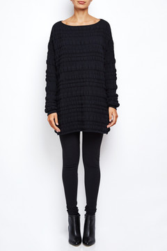 Sarah Pacini Bubble Sweater Dress 3