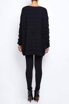 Sarah Pacini Bubble Sweater Dress 5