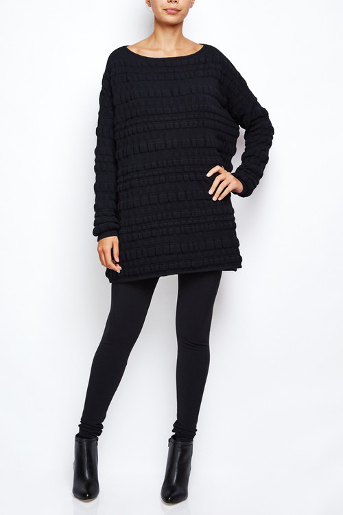 Sarah Pacini Bubble Sweater Dress 2