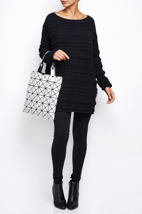 Sarah Pacini Bubble Sweater Dress 6