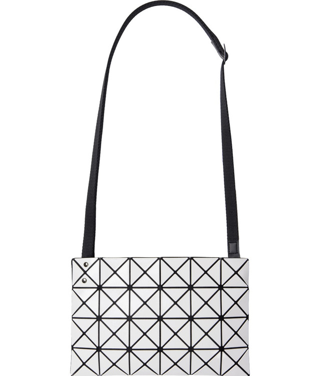 Lucent Small Crossbody Bag White