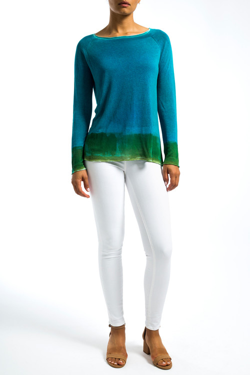 Turquoise Blue Sweater