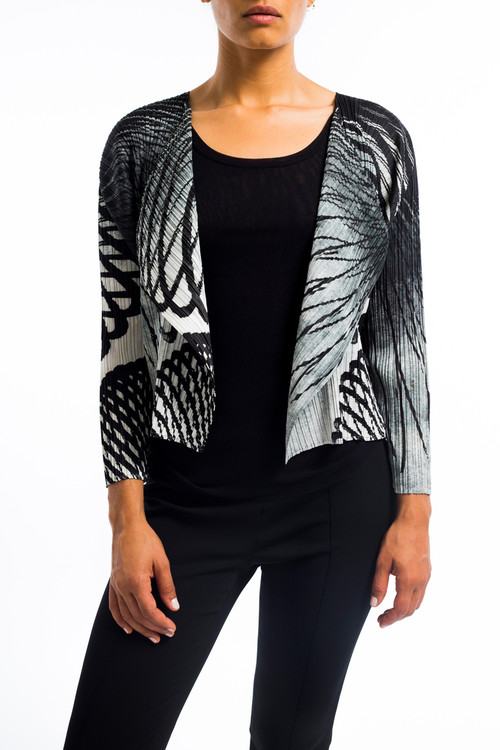 Issey Pleats Motion Short Jacket