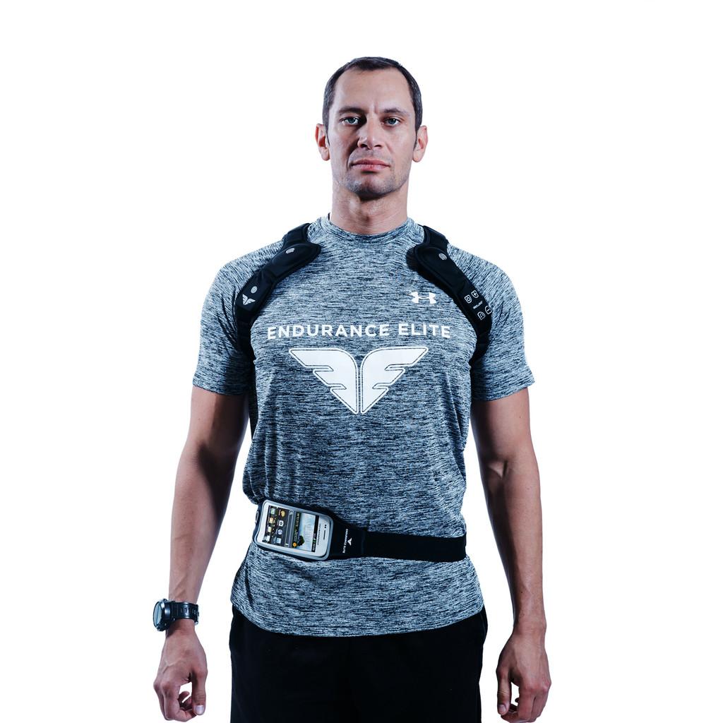 "black Hawk (LG) - wearable speaker system, chest 42"" & up"