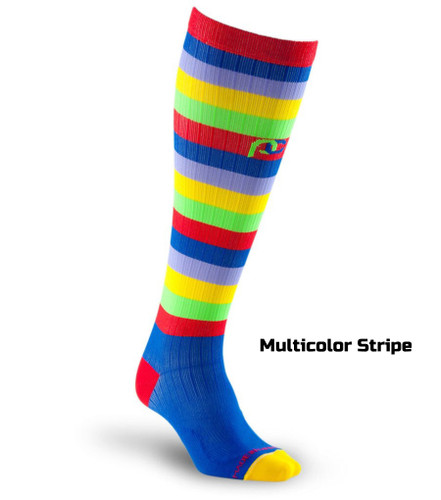 Graduated Compression Socks - Stripes