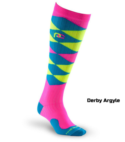 Graduated Compression Socks - Argyles
