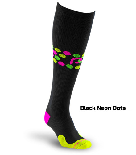 Graduated Compression Socks - Dots