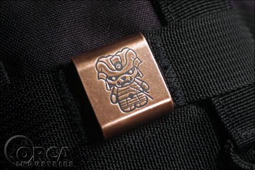 Steel Flame - Kuma Korps - Samurai - MOLLE Clip - Copper