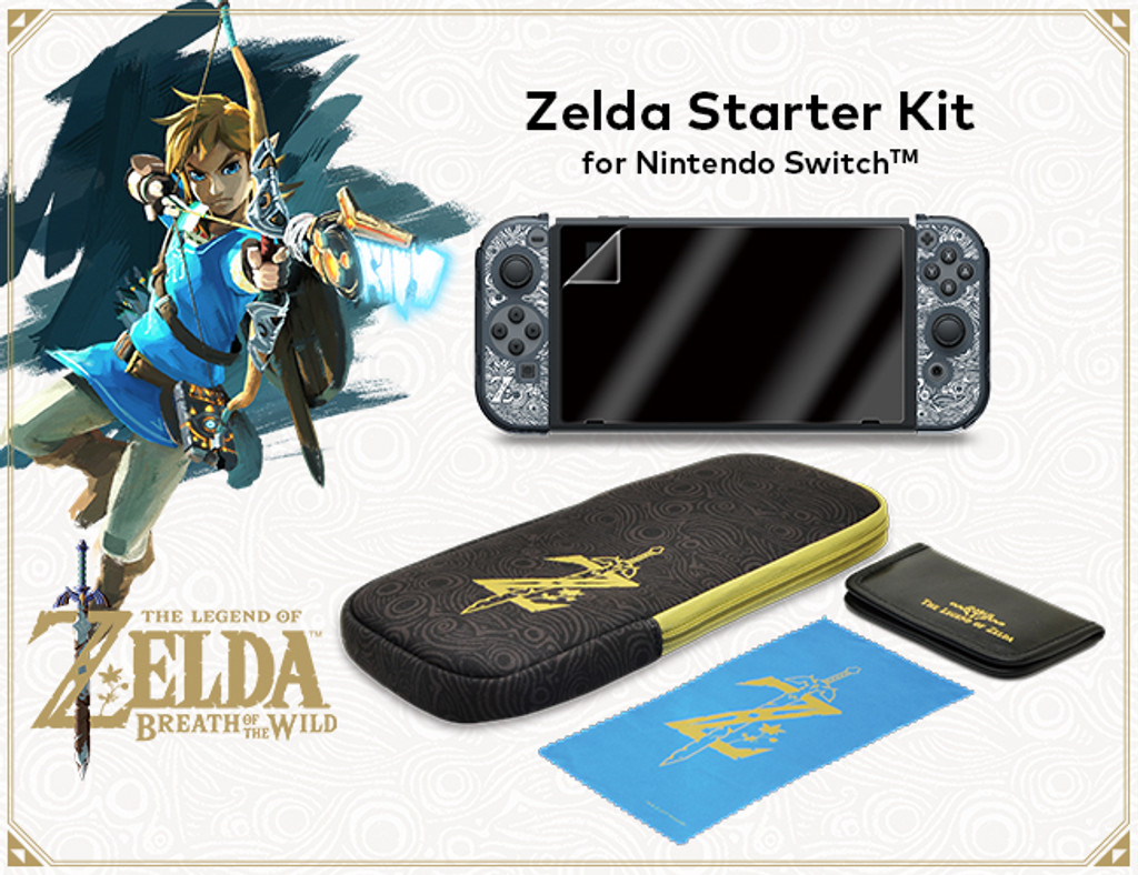 Zelda Starter Kit for Nintendo Switch