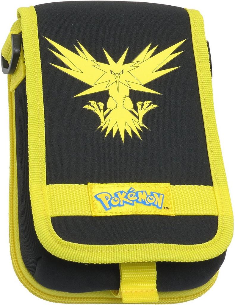 Pokemon Zapdos Travel Pouch - Yellow for Nintendo 3DS XL